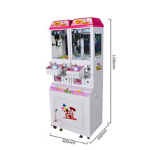 customize design mini toy vending crane claw game machine