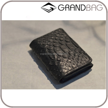 Customized real snake leather business card holder name card cases