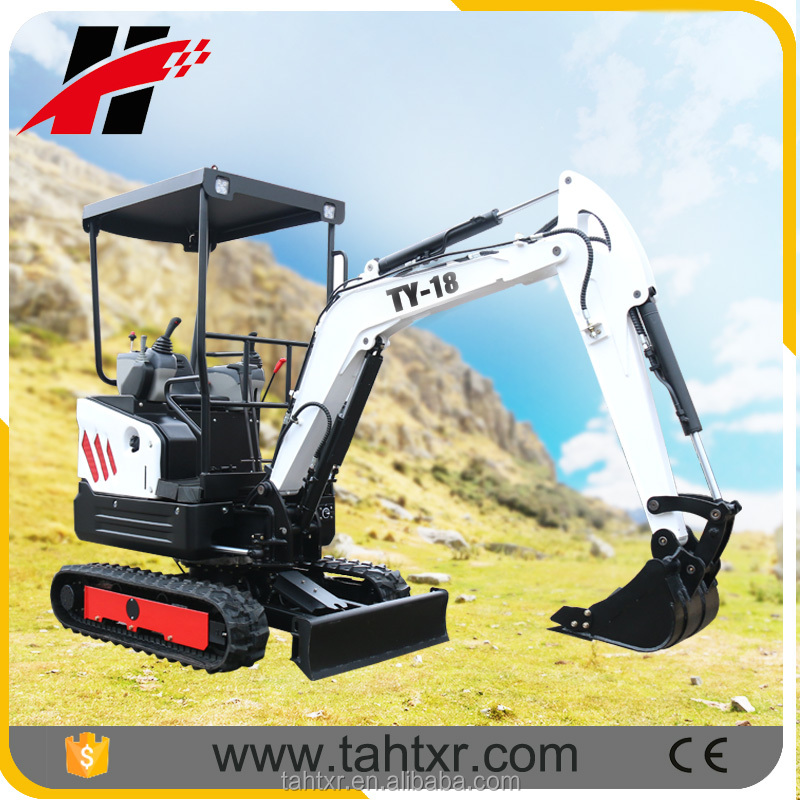 mini compact excavator with EPA engine