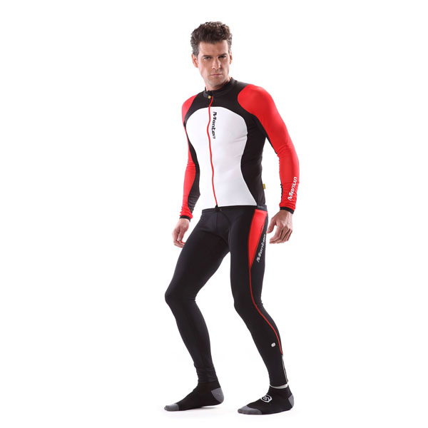 2014 MONTON latest style long sleeve cycling skinsuit for men