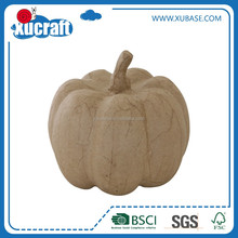 Paintable Paper Mache Paper Pulp pumpkin Crafts 3D DIY