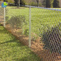 9 gauge 5 foot black chain link fence