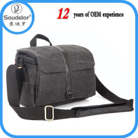 New Wholesale Hot Sale Canvas SLR Camera Bag