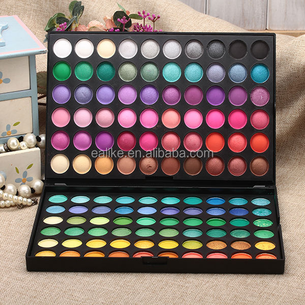 Custom private label magnetic eye shadow makeup 120 palette