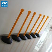 water filled plastic barrier/removable bollards
