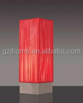 hotel/restaurant/ bar Square modern Table Lamp (IHQD-10020B)