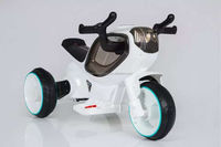 New cheap children electric car with LED light 3 Wheel motorcycle electric car with music Motorcycle for baby