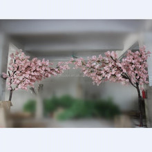 Wedding decoration artificial wooden arches cherry blossom tree arches