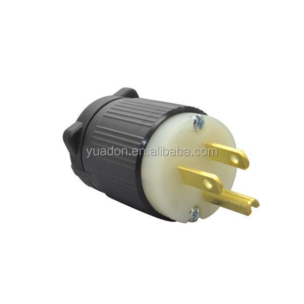 Alibaba Best Sellers Wholesale UL Approved NEMA Plugs NEMA 5-15P Plug Electrical Receptacle Types for Lighting