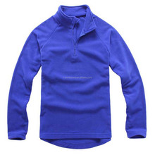 High Quality Mens Raglan Sleeved Half Zipper Polar Fleece Winter Jackets