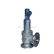 A44Y Spring loaded lever steam safety relief valve