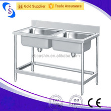 kexin Outdoor Sink Table,Stainless Steel Sink Table,Kitchen Stainless Steel Sink Work Table
