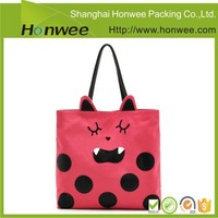 high quality cheap pictures printing pp non woven shopping bag