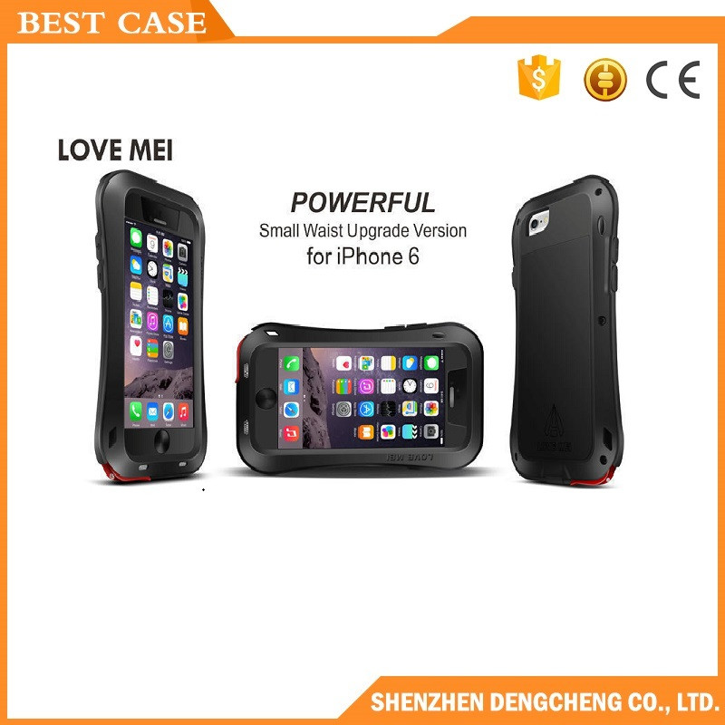 love mei powerful waterproof cover case for iphone 6 plus love mei case for galaxy s4
