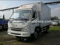 CHINA T-KING 1T DIESEL BOX TRUCK SIDE/BACK DOORS