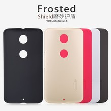 NILLKIN Frosted Shield PC Back Skin Case Cover Shell For Motorola Nexus 6