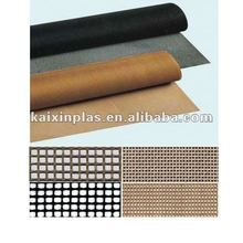 Teflon coated fiberglass mesh conveyor belt mesh size approx. 4 x 4