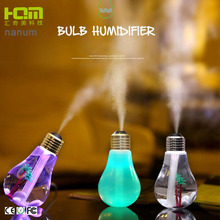 Wholesale 400 ML USB Bulb Shape Mini Air Humidifier With LED Light