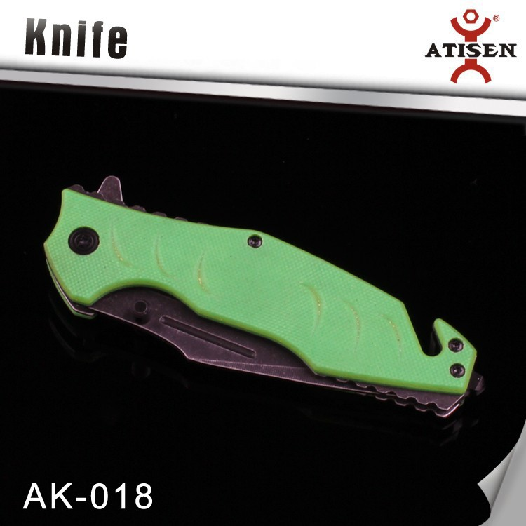 Dual Stud Easy Open Folding Knife with Belt Clip