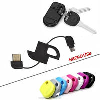 newest keychain usb data cable for Samsung S3/4 LG HTC, micro usb cable data micro usb data cable, key chain usb sync data cable