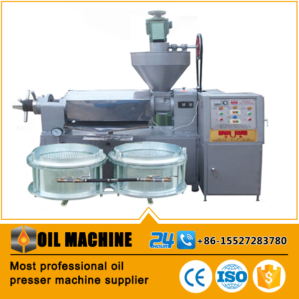 6YL oil press machine three pieces combination including cooker,screwi conveyor,oil mill machinery