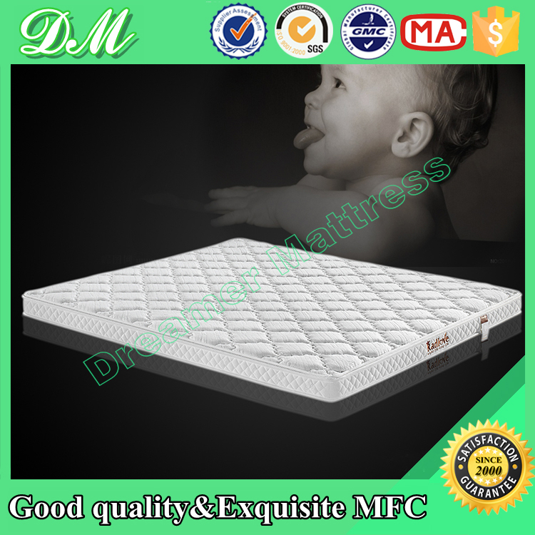 Natural coir fiber breathable baby cot bed mattress