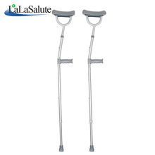 Medical equipment aluminum alloy elbow crutches adjustable anti-skid elbow crutches for disabled