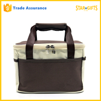 Custom High Quality Insulated Oxford Fabric Lunch Cooler Bag With Alumimun Foil