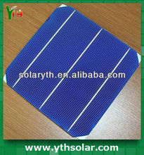 2013 High efficiency and best price 1.5V monocrystalline silicon solar cell 156x156