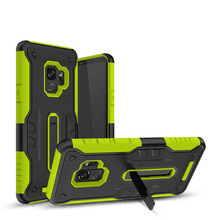Shockproof Armor Robot Phone Case with Kickstand For Samsung S9