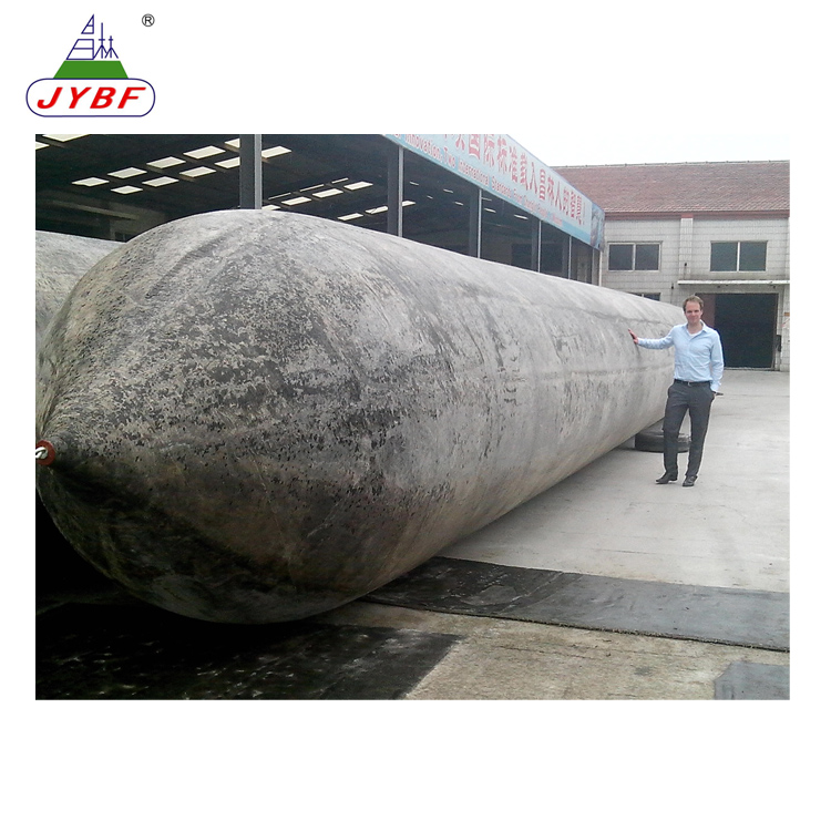 Ship launching marine airbag for Indonesia