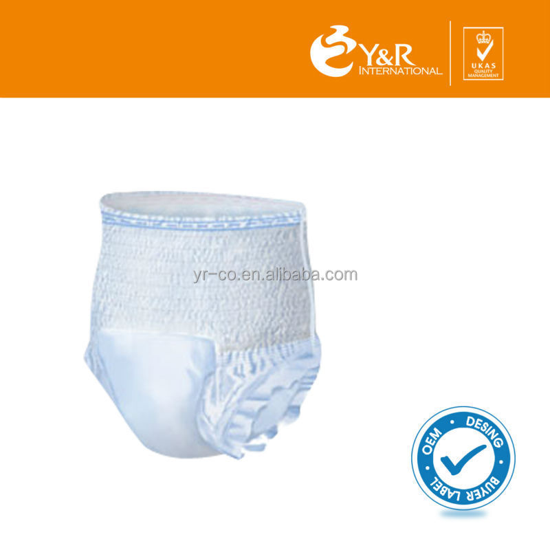 Best-selling adult pants diaper with fast working