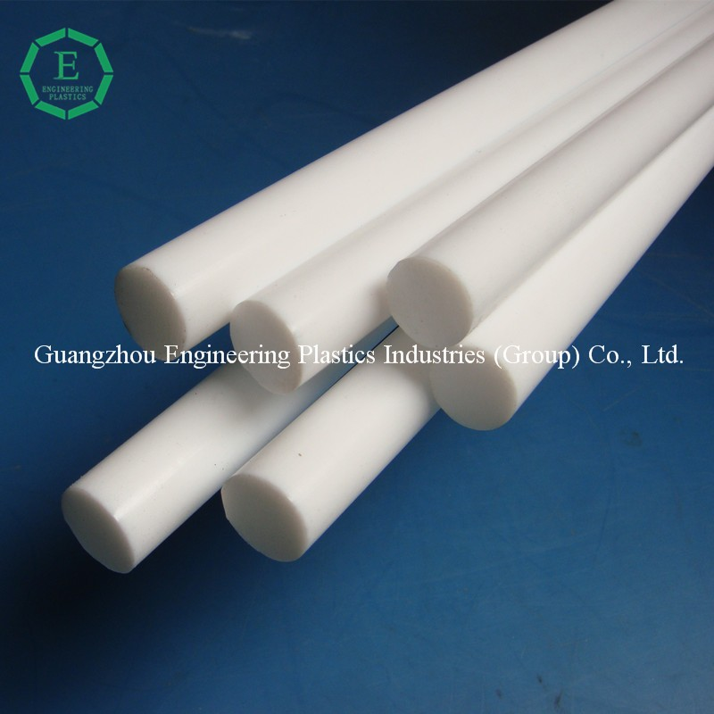 Plastic manufacturer high quality virgin pvc round bar