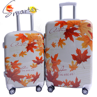 Canada Maple Pattern Print Hard PC Film Luggage Case