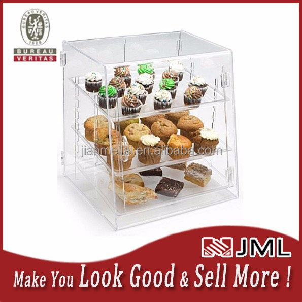 JML Acrylic Food Display Case with (3) Trays