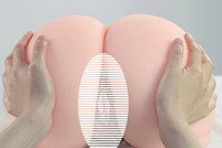 Solid silicone pussy vagina doll for men sex toys