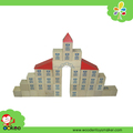 PY1044,Castle Block Set from Eagle Creation Toys