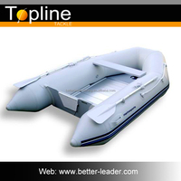 2015 China Cheap Inflatable Boat Plastic Fishing Boat For Sale