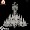 Baccarat Style Large Crystal Chandelier Lighting