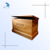 Chinese manufacturer big wood box kids toy box with good price and high quality