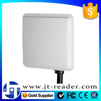 Fixed Station Tag Building Reader Mid-range UHF RFID Card Reader Passive for Smart Parking System