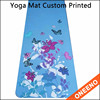 Anti tear eco friendly Yoga &Pilates Type yoga mat with full printed