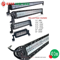 "Bright 20"" 120w fire truck car led light bar 12v"