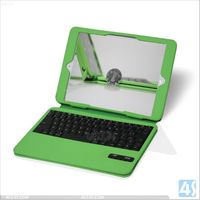 Ultra Thin blutooth Keyboard with leather case for iPad Air for ipad 5 P-IPD5CASE070