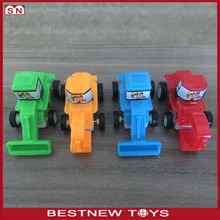 Cartoon wholesale smart bulk plastic mini truck car toy