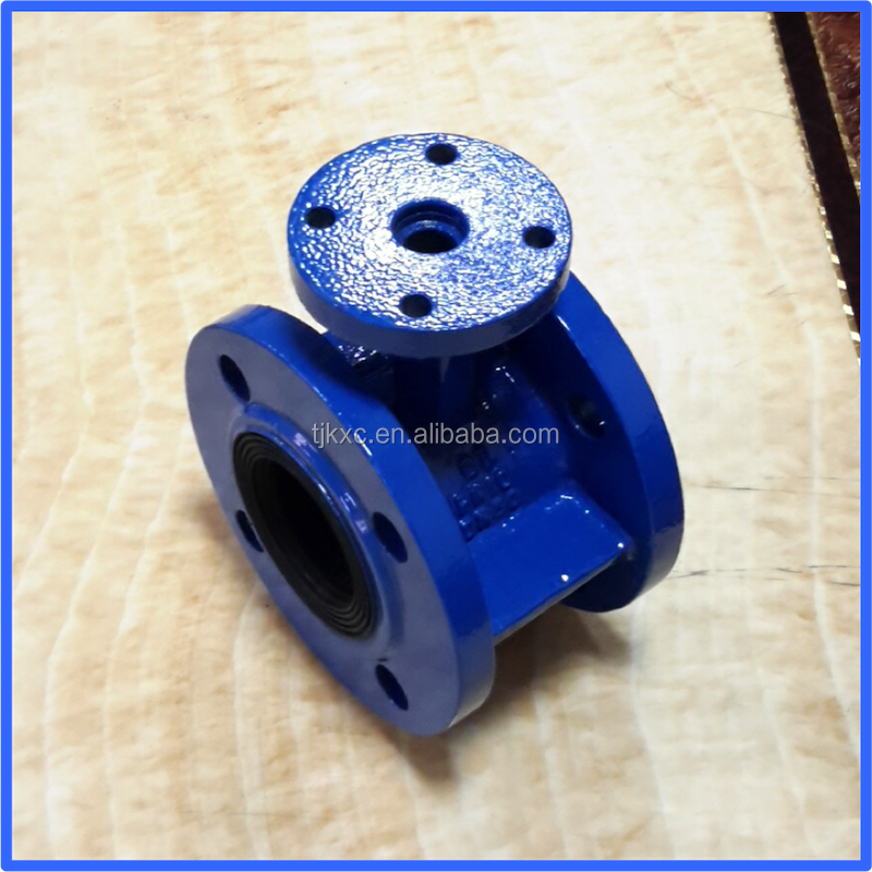 Castings for double flange butterfly valve body GGG40/DI medium temperature