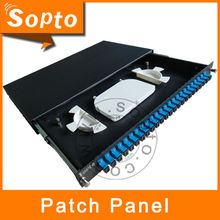 AMP Patch Panel, 24 Port Fiber Optical Patch Panel