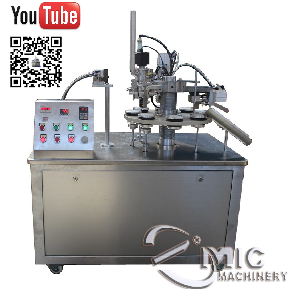 Micmachinery manufacture direct supply cosmetic cream filling machine plastic tube filling machine tube packing machine