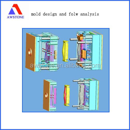 3D drawings design injection mould develop
