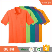 Cotton short sleeve golf sports polo t shirts